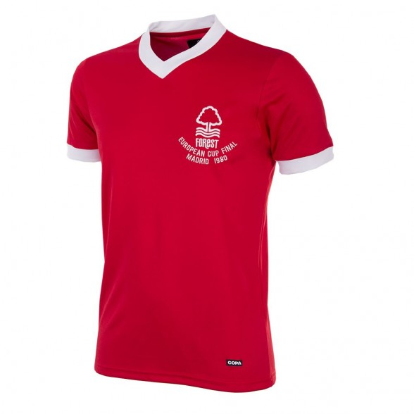 Camiseta Nottingham Forest 1979/80