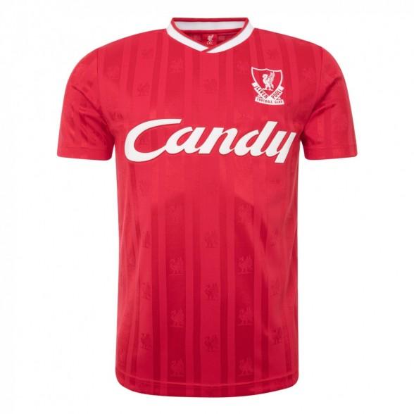 Camiseta Liverpool 1988/89