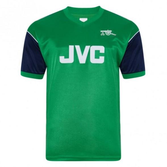 Camiseta Retro Arsenal 1982 Visitante Verde