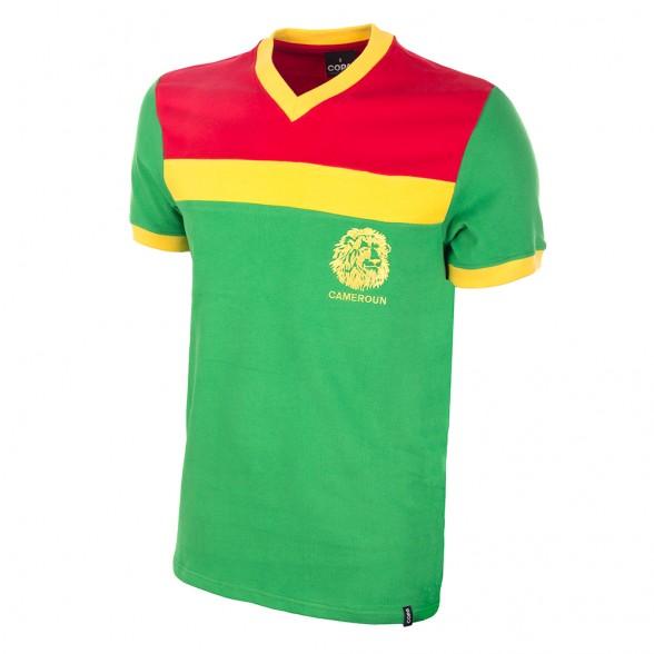 Camiseta retro Camerún 1989