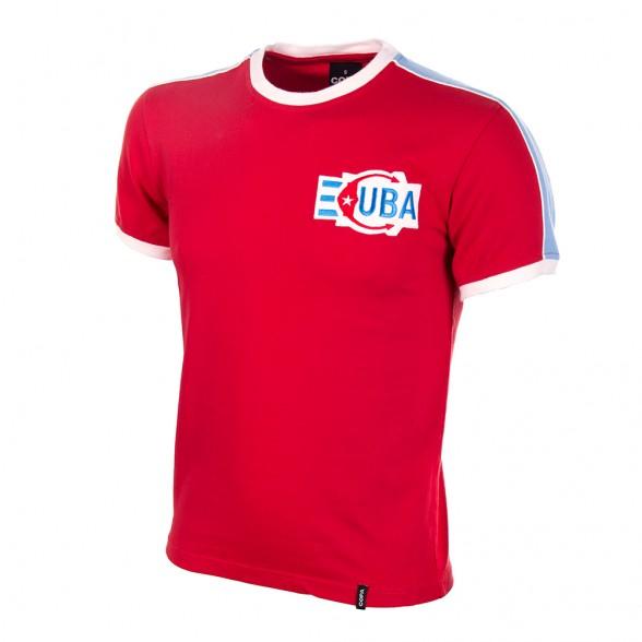 Camiseta retro Cuba años 80