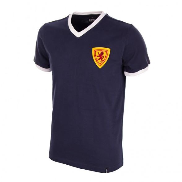 camiseta retro escocia