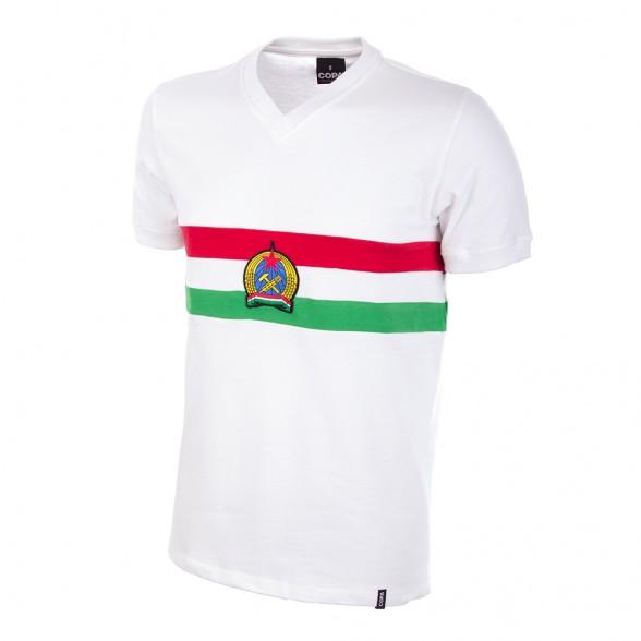 Camiseta retro Hungria Puskas  caf14824371cb