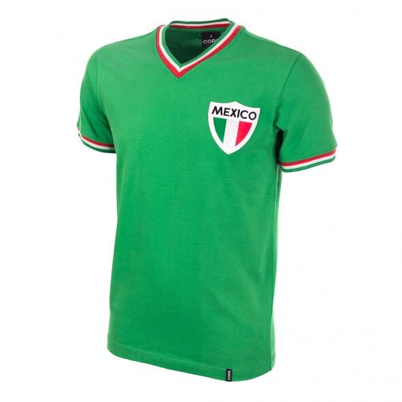 Camiseta fútbol México 1970. Selección Mexicana Fútbol  ef39bee3264dc