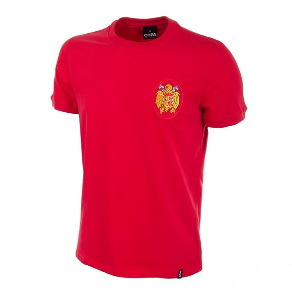 camiseta retro españa eurocopa