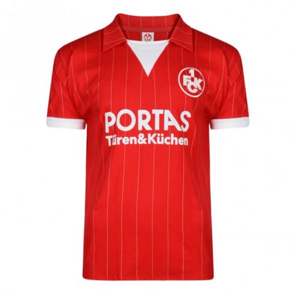 Camiseta Kaiserslautern 1983/84