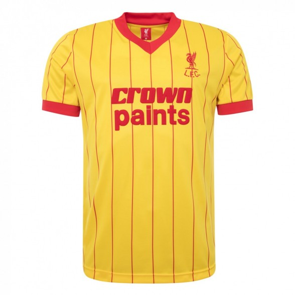 Camiseta Liverpool 1981/82 | Away