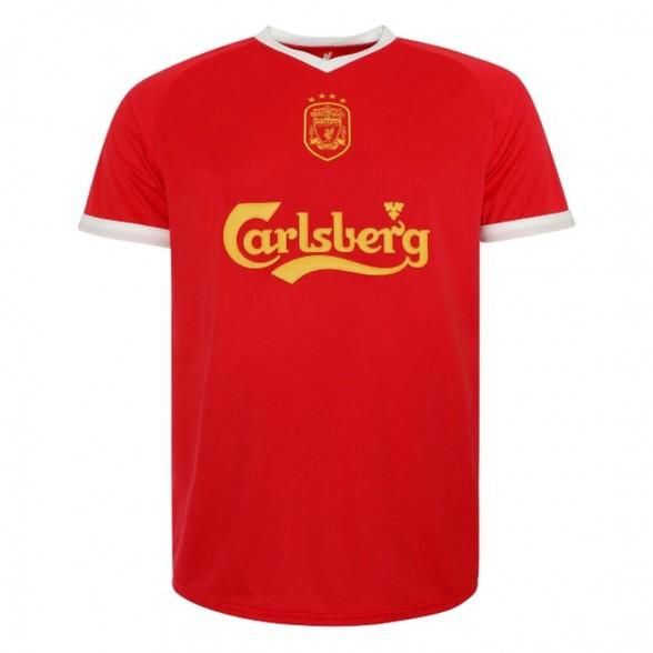 Camiseta Retro Liverpool FC 2001-03