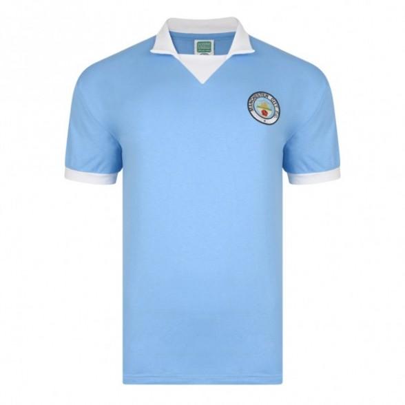 Camiseta Manchester City 1975/76