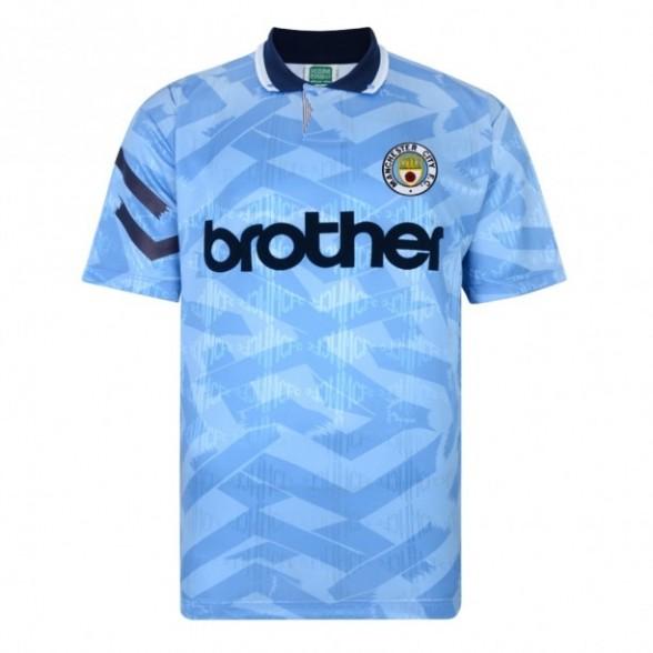 Camiseta Retro Manchester City 1992