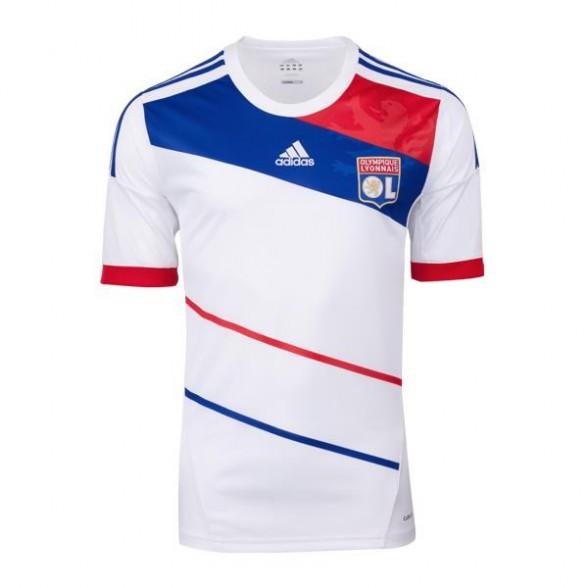 Camiseta Olympique Lyon 2012-2013