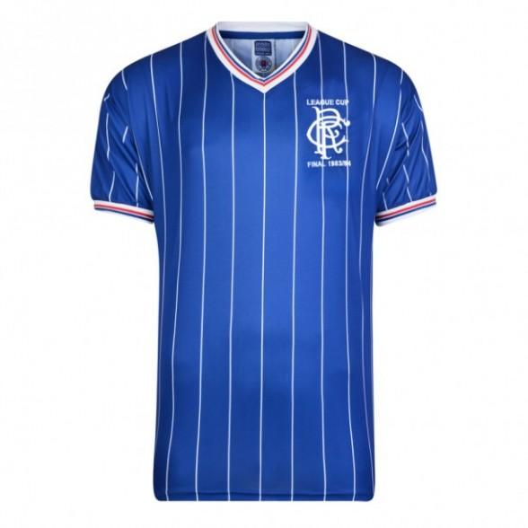 Camiseta Glasgow Rangers 1984