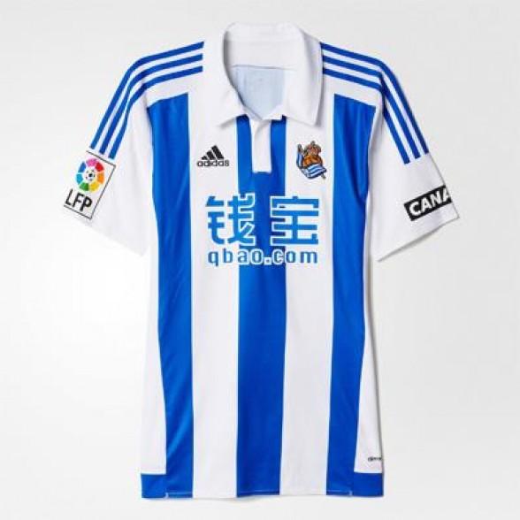 Camiseta vintage Real Sociedad 2015-2016