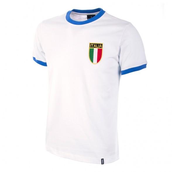 Camiseta Italia 2º equipación años 60 blanca  00e01c0f753b5
