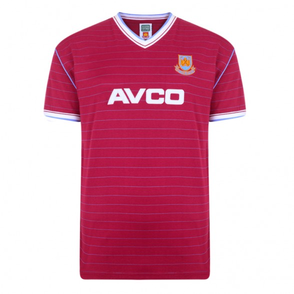 Camiseta West Ham 1985/86