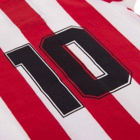 Camiseta Atlético de Madrid Retro para Bebé