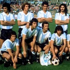 Camiseta Argentina Mundial 1974