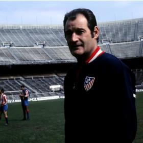 Chaqueta futbol retro Atletico Madrid 1969