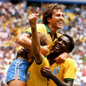 Camiseta Brasil 1986