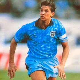 England 1990 retro shirt product photo