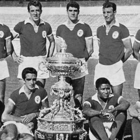 Camiseta SL Benfica 1962 - 63