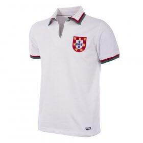 Camiseta Retro Selección de Portugal blanca Eusebio