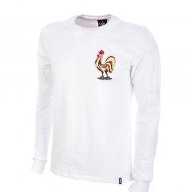 Camiseta Francia 2º equipación años 60