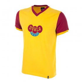 Camiseta Dukla Praga amarilla