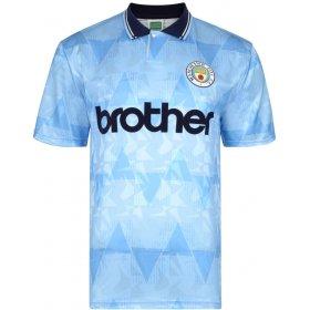 Camiseta Manchester City 1989-90