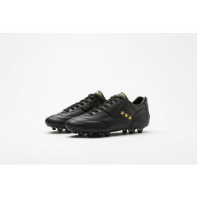 Pantofola d'Oro Epoca Retro Football Boots   Black-Gold SG