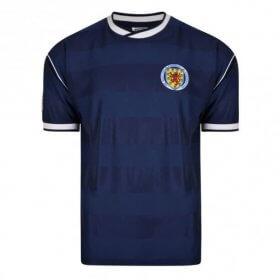 Camiseta Retro Escocia 1986