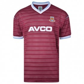 West Ham 1986 retro shirt product photo