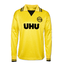 Camiseta Borussia Dortmund 1980-83 - Manga Larga