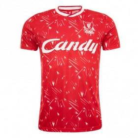 Camiseta Liverpool 1989/91