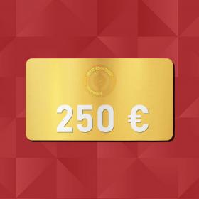 250€ Tarjeta Regalo - Retrofootball®