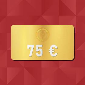 75€ Tarjeta Regalo - Retrofootball®