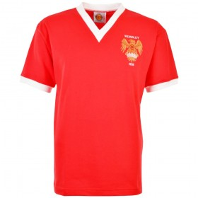 Camiseta Retro Manchester United 1958 FA Cup Final