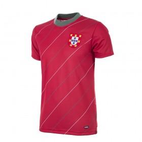 Camiseta retro Portugal 1984