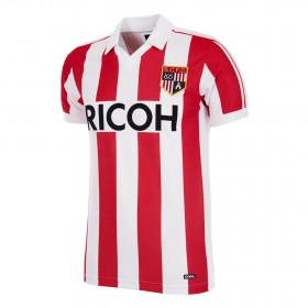 Camiseta Retro Stoke City FC 1981-83