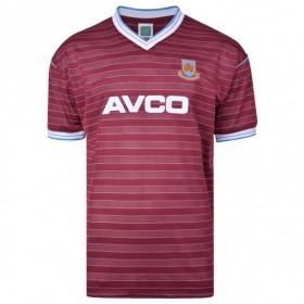 West Ham 1986 retro shirt product photo