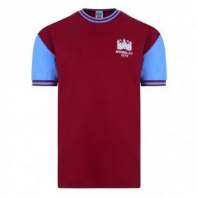 Camiseta West Ham 1975