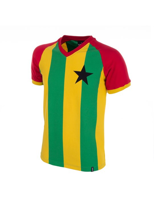Camiseta Ghana años 80