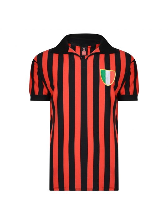 Camiseta antigua AC Milan 1963 Rivera Maldini Altafini