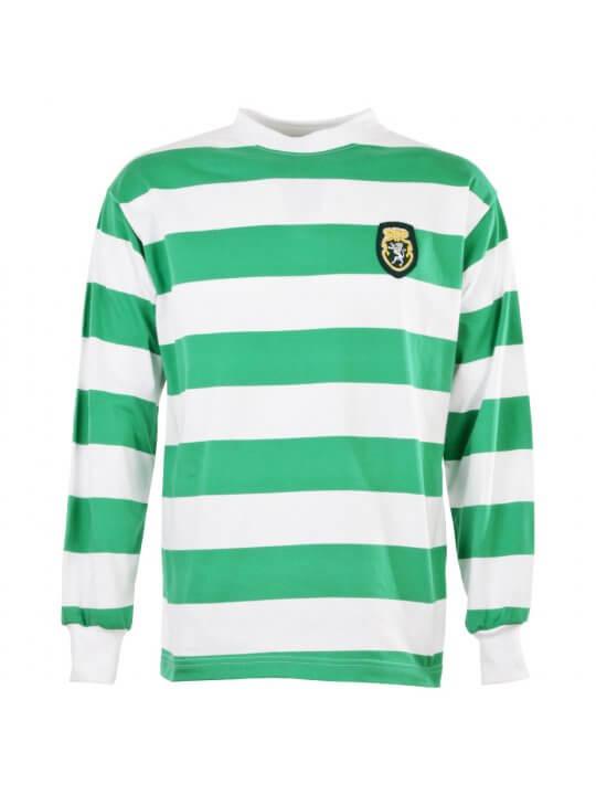 Camiseta Sporting Lisboa años 50/60
