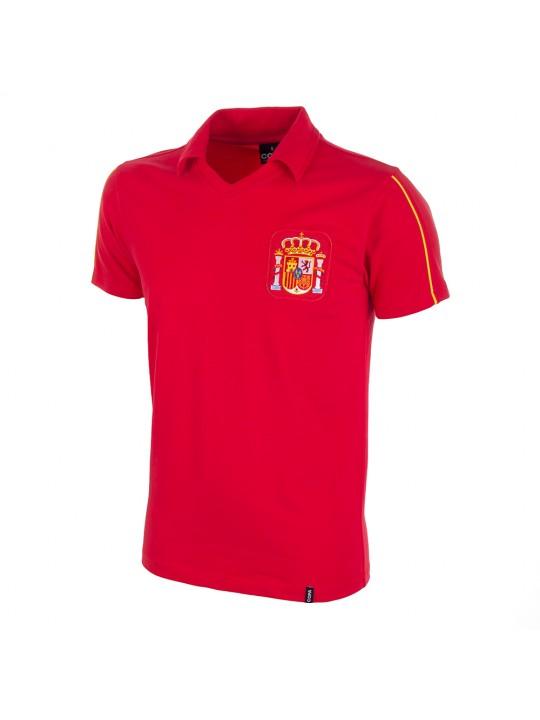 camiseta retro selección española eurocopa