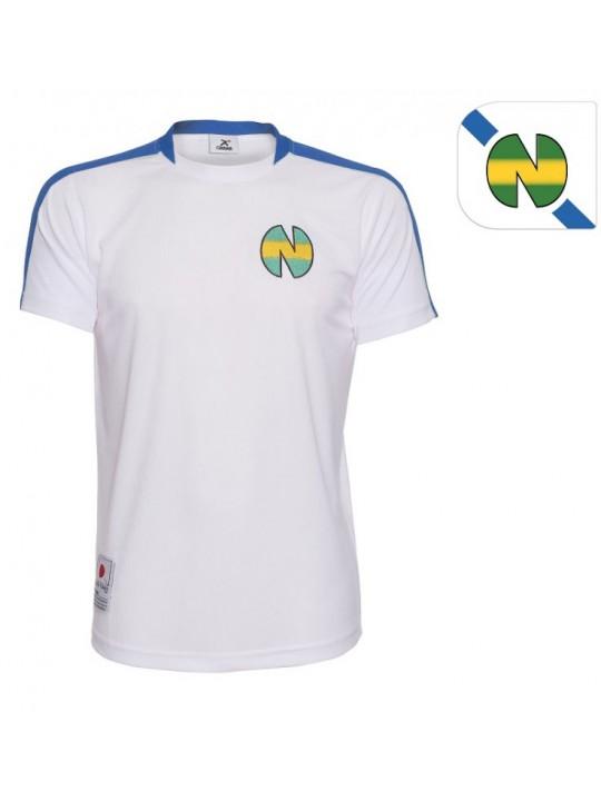 Camiseta New team azul. Oliver Atom. Oliver y Benji