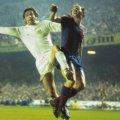 Norman Hunter con la camiseta del Leeds United 1975 Final Copa de Europa