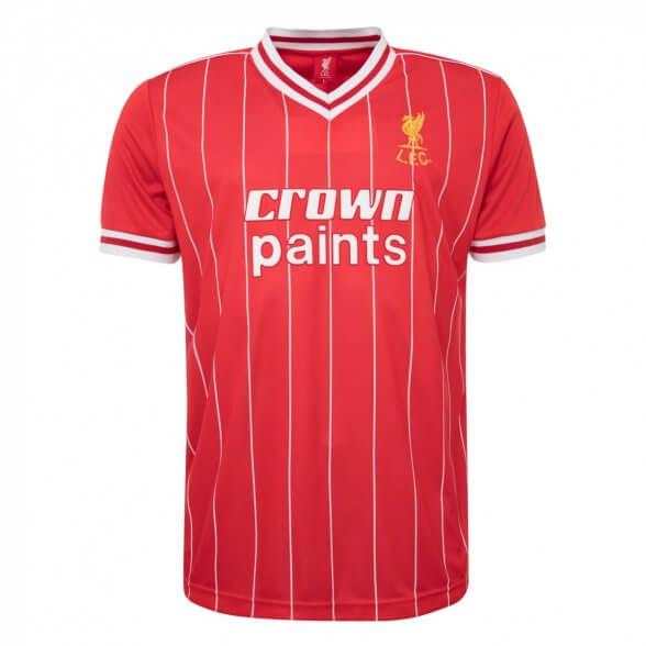 Camiseta Liverpool 1982/83