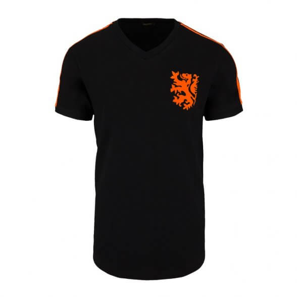 T-shirt Holanda 1974 | Negra