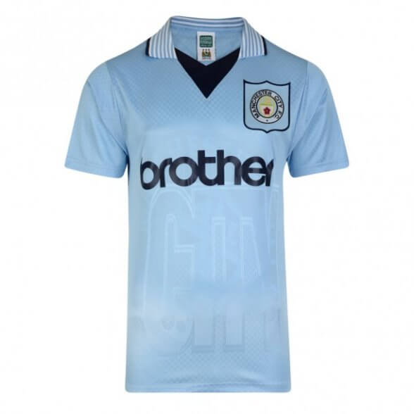 Camiseta Manchester City 1996